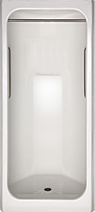 IS 3336SH Space Saving Corner Shower
